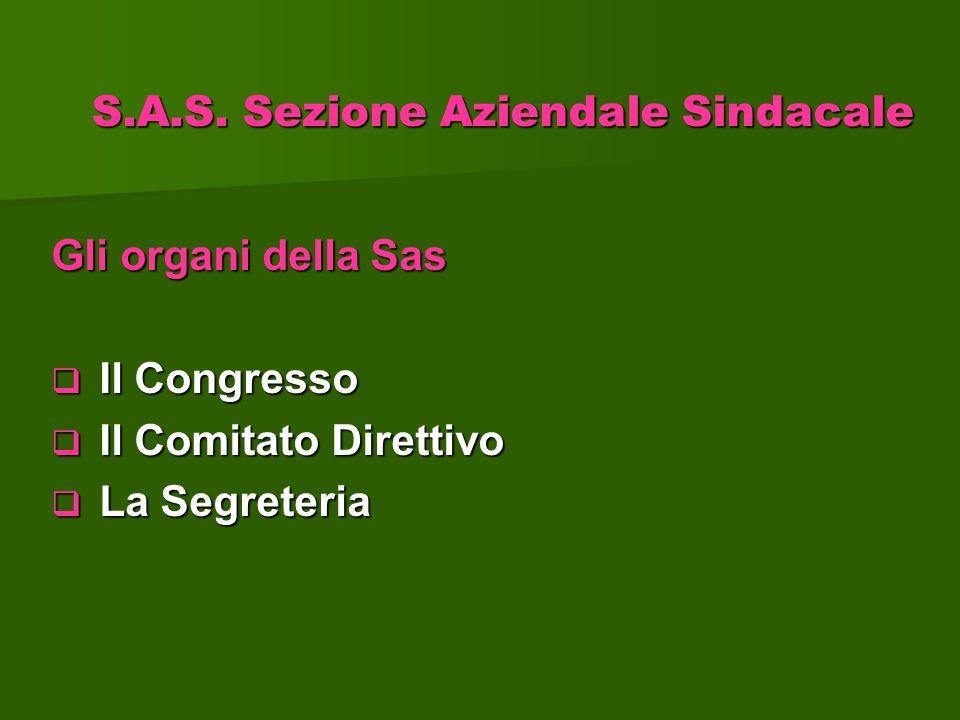 S.A.S. Sezione Aziendale Sindacale