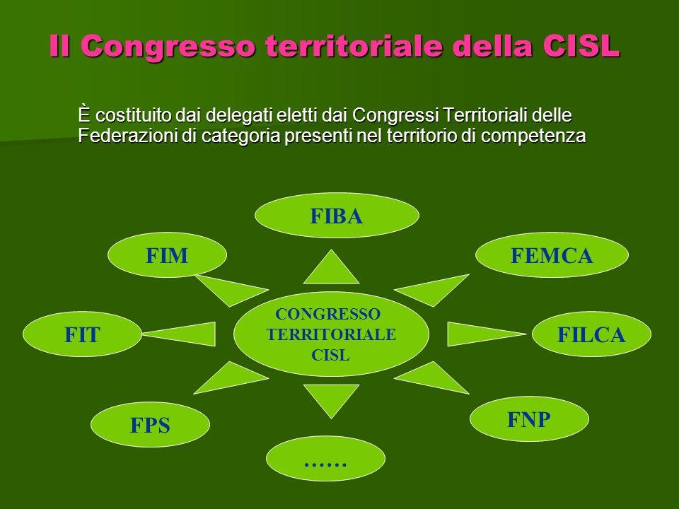 Il Congresso territoriale della CISL