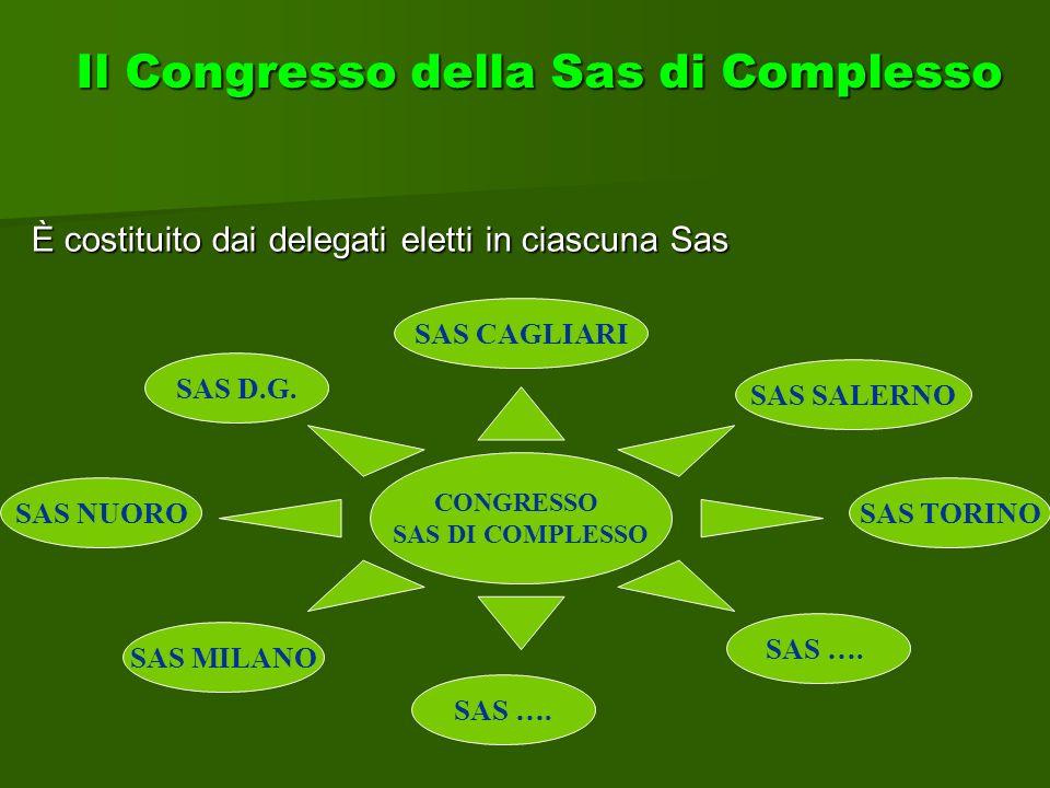 Il Congresso della Sas di Complesso