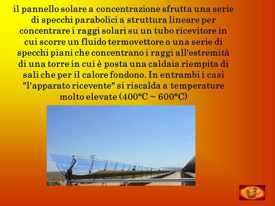Pannello Solare A Concentrazione Definizione : L energia solare ppt video online scaricare