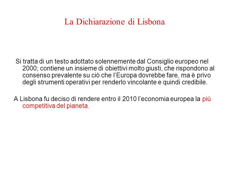 La Dichiarazione di Lisbona