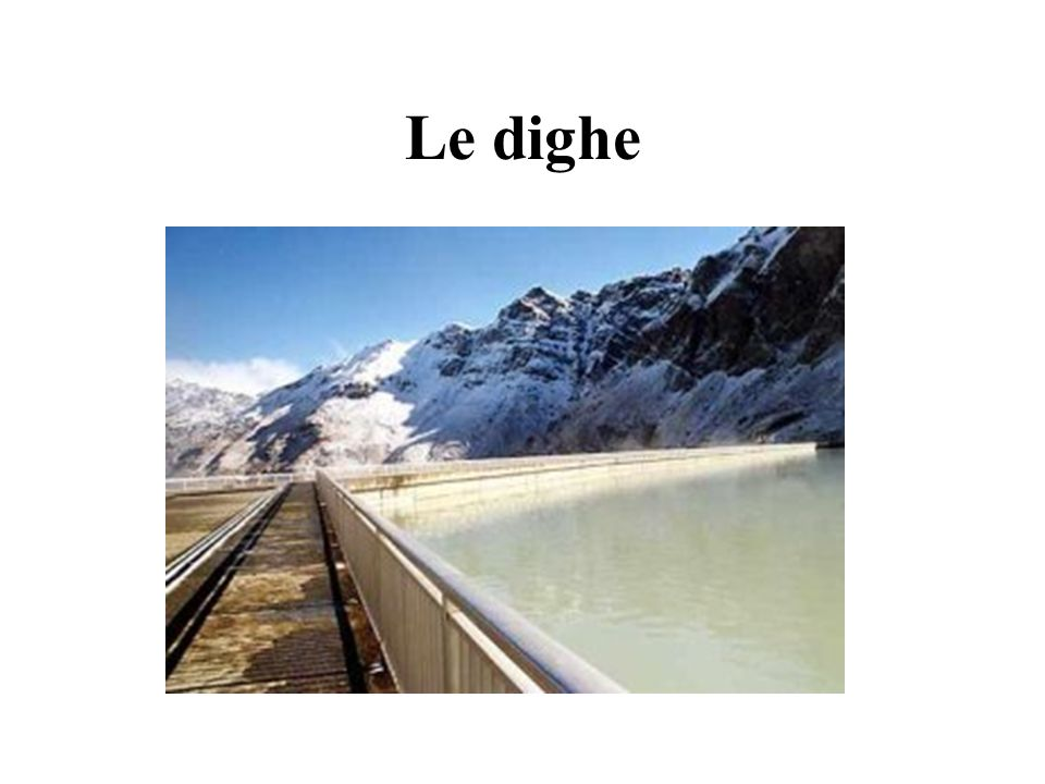 Le dighe