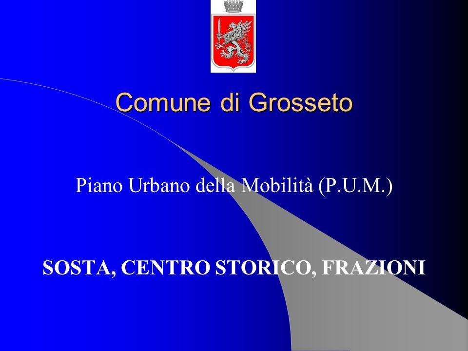 Piano Urbano della Mobilità (P.U.M.) SOSTA, CENTRO STORICO, FRAZIONI