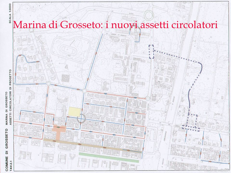 Marina di Grosseto: i nuovi assetti circolatori