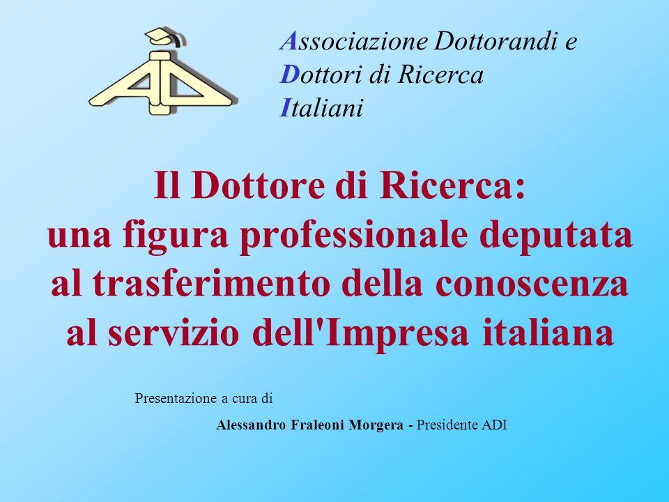 Associazione Dottorandi e Dottori di Ricerca Italiani