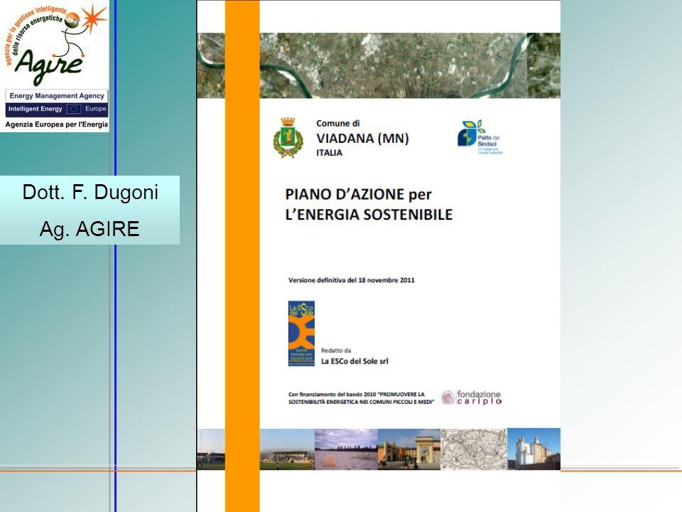 Dott. F. Dugoni Ag. AGIRE Comune di Viadana