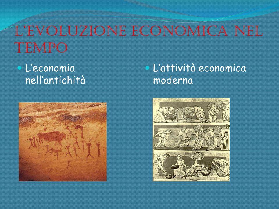 L'evoluzione economica nel tempo