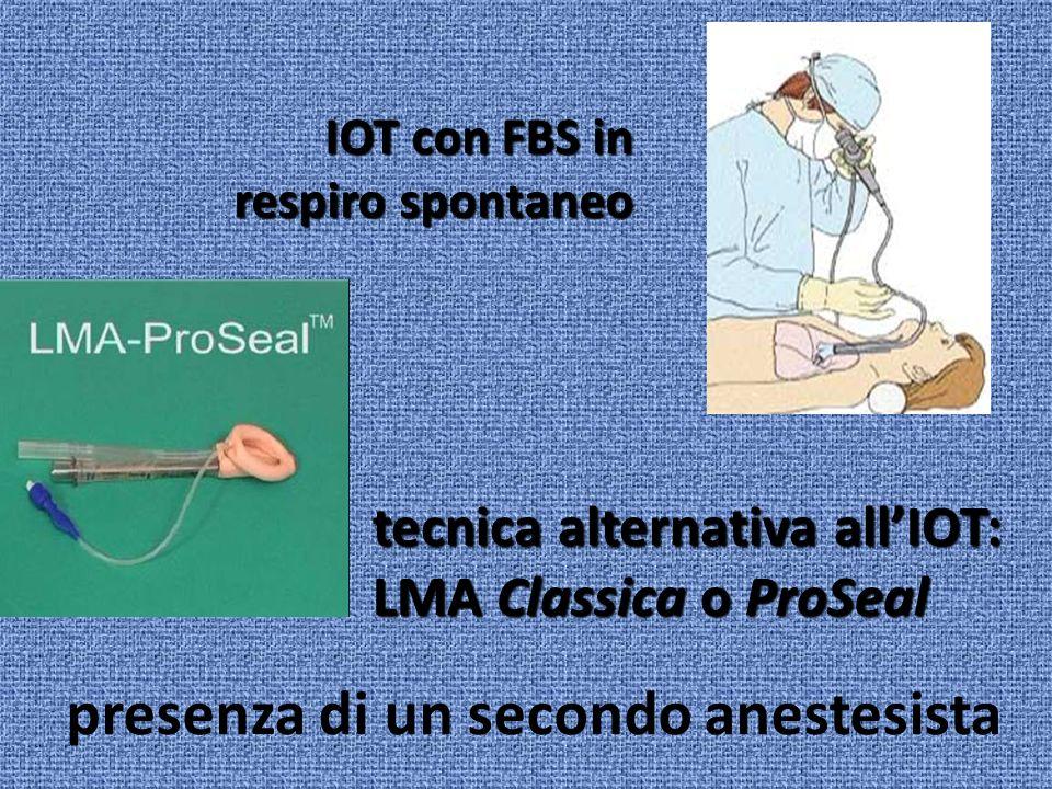 presenza di un secondo anestesista