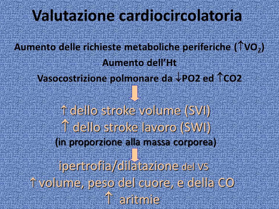 Valutazione cardiocircolatoria