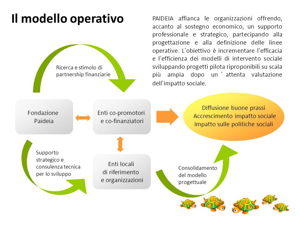 Il modello operativo
