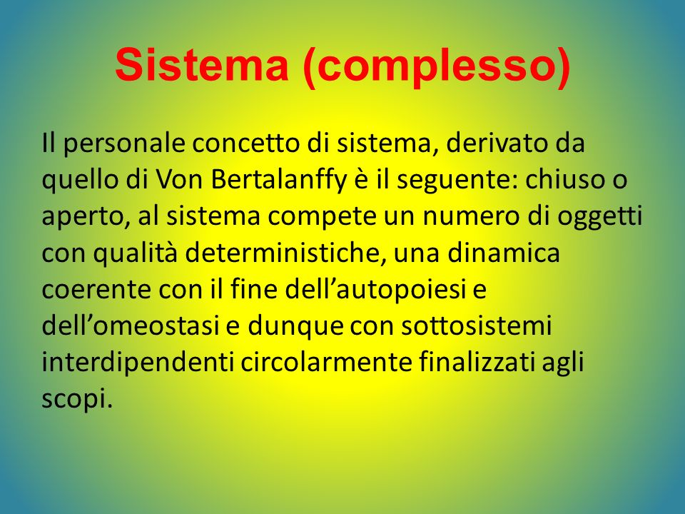 Sistema (complesso)