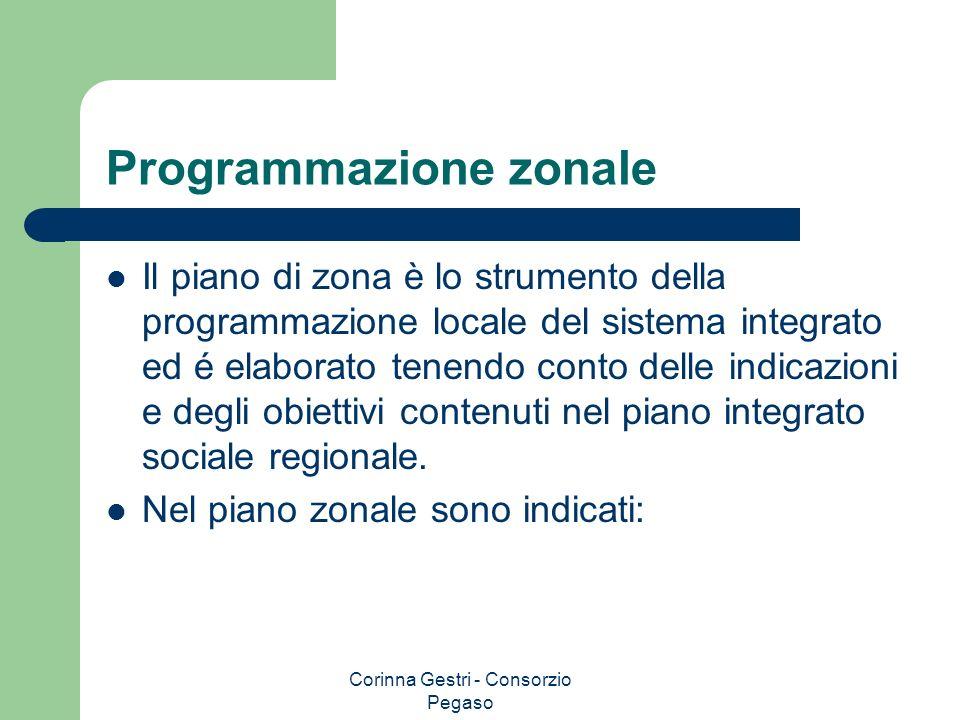 Programmazione zonale