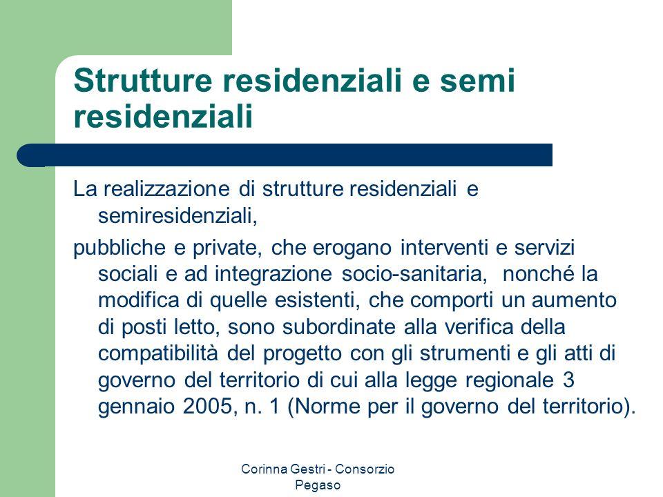 Strutture residenziali e semi residenziali