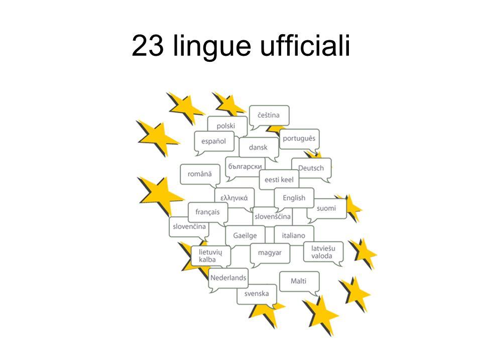23 lingue ufficiali 10