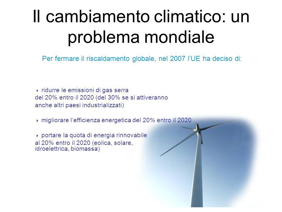 Il cambiamento climatico: un problema mondiale