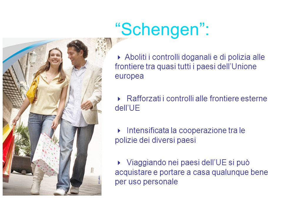 Schengen : Libertà di movimento