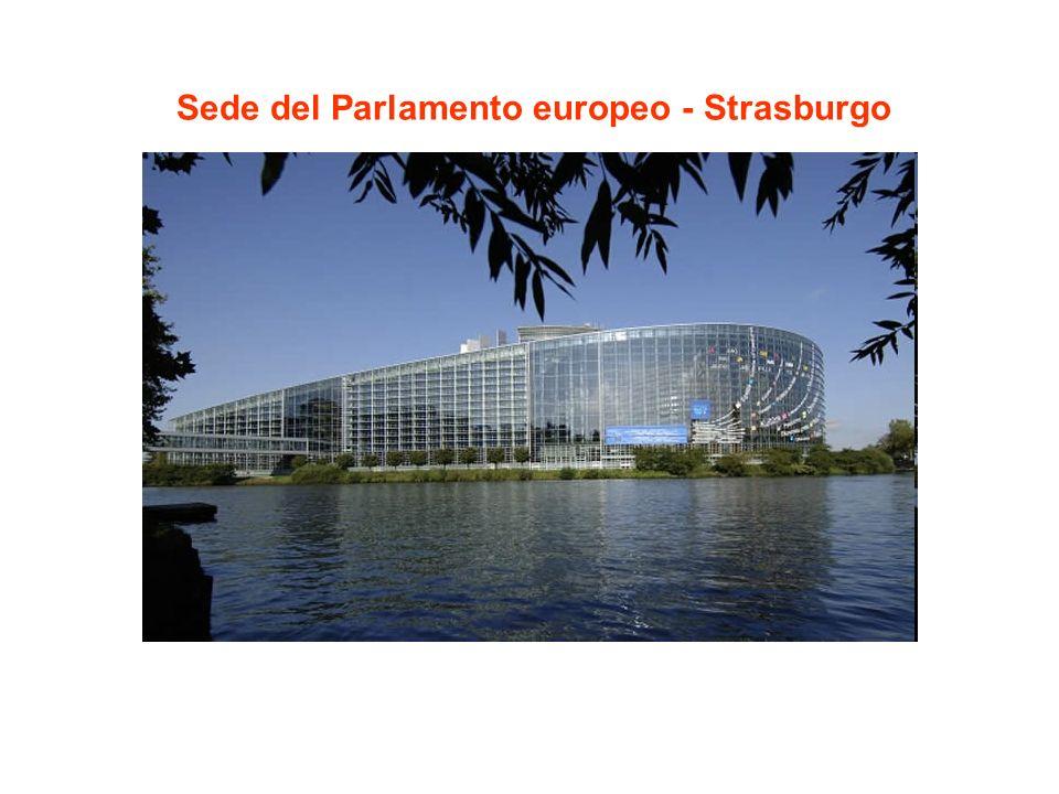 Sede del Parlamento europeo - Strasburgo