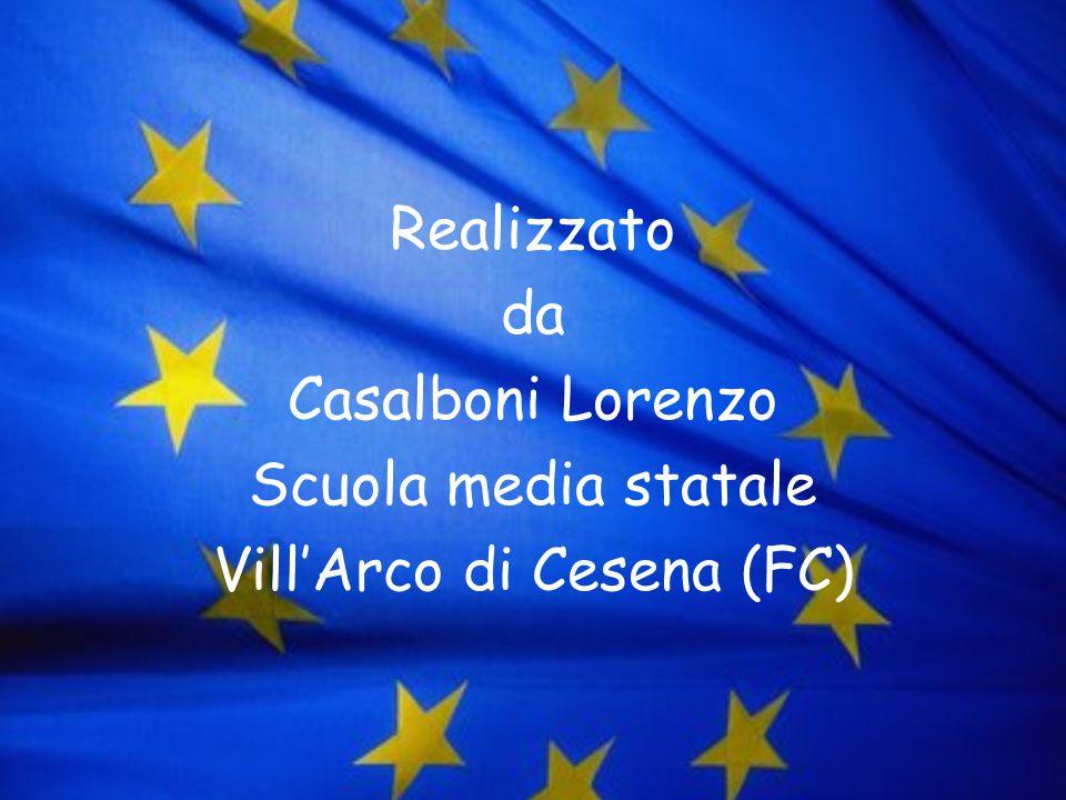 Realizzato da Casalboni Lorenzo Scuola media statale Vill'Arco di Cesena (FC)