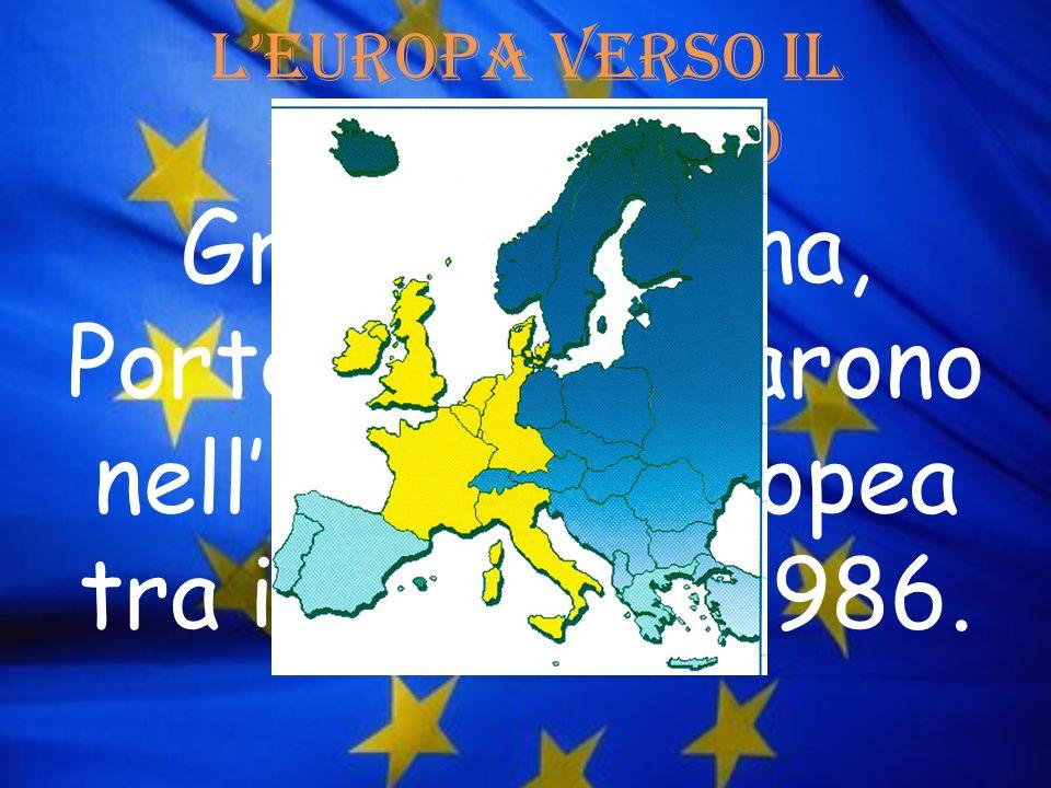 L'Europa verso il mediterraneo