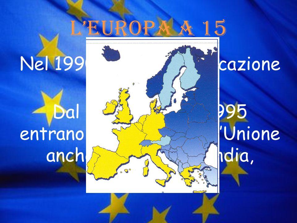 L'Europa a 15