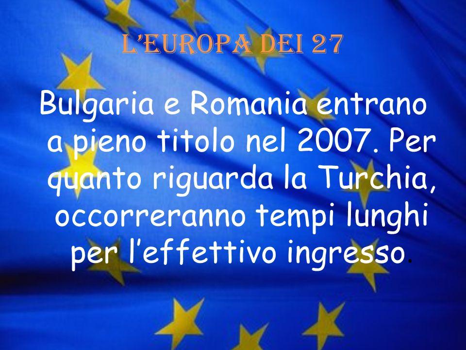 L'Europa dei 27