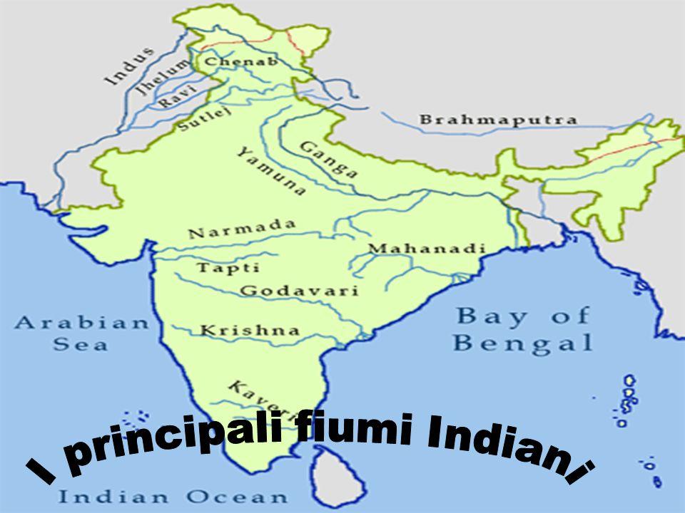 I principali fiumi Indiani