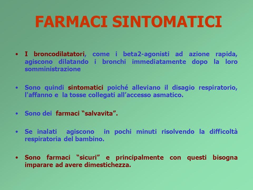 FARMACI SINTOMATICI