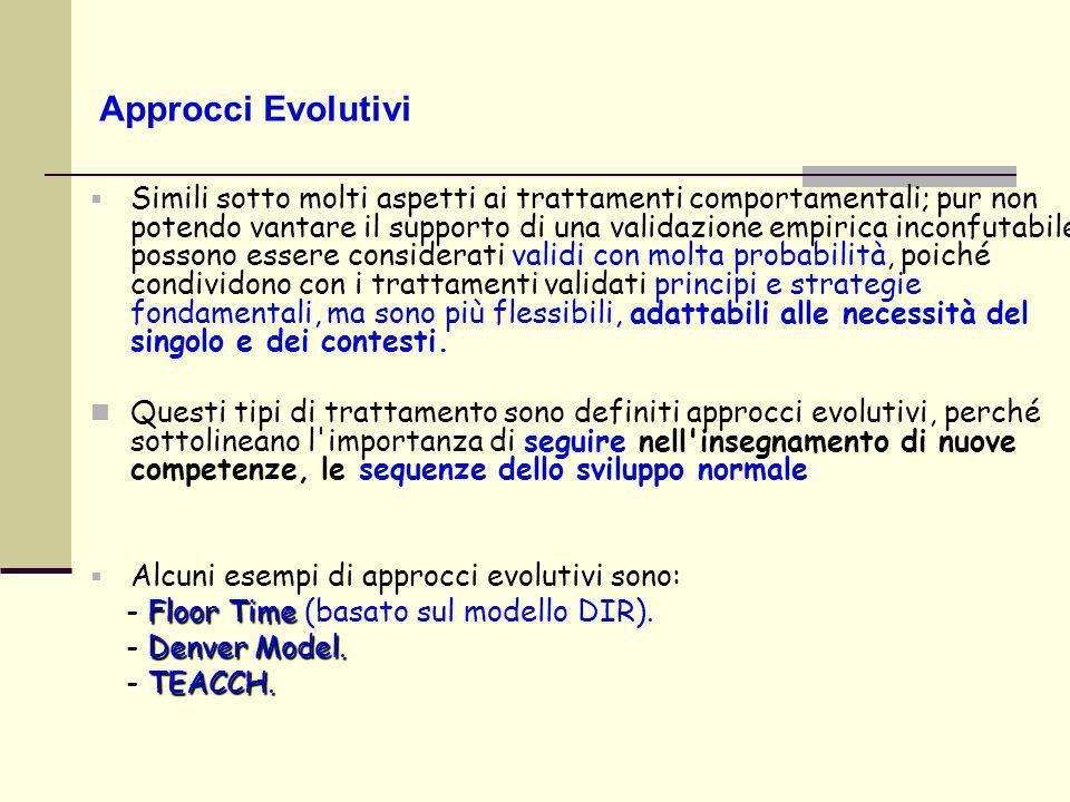 Approcci Evolutivi