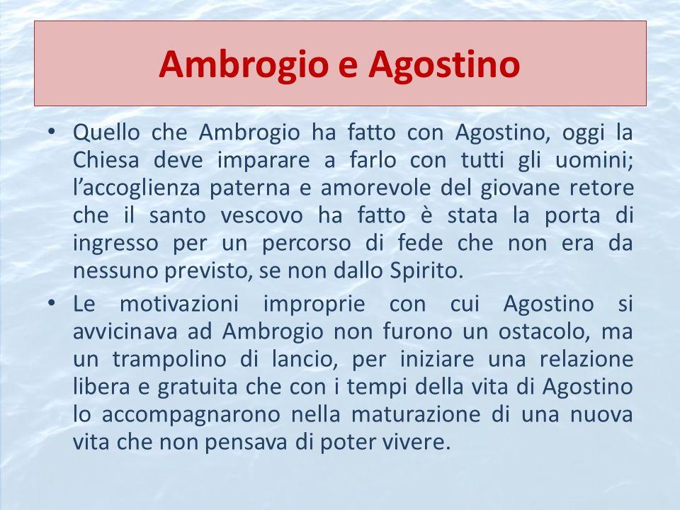 Ambrogio e Agostino