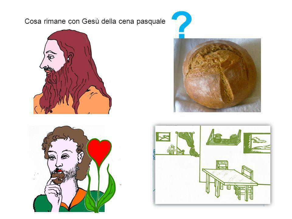 Cosa rimane con Gesù della cena pasquale