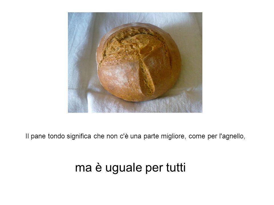ma è uguale per tutti Il pane arabo è tondo
