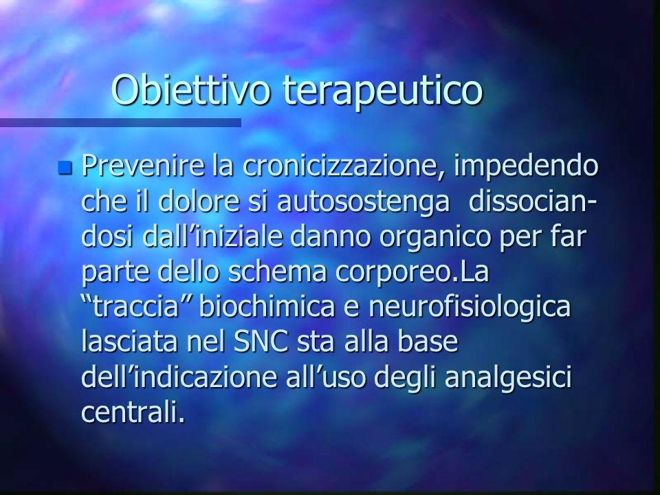 Obiettivo terapeutico