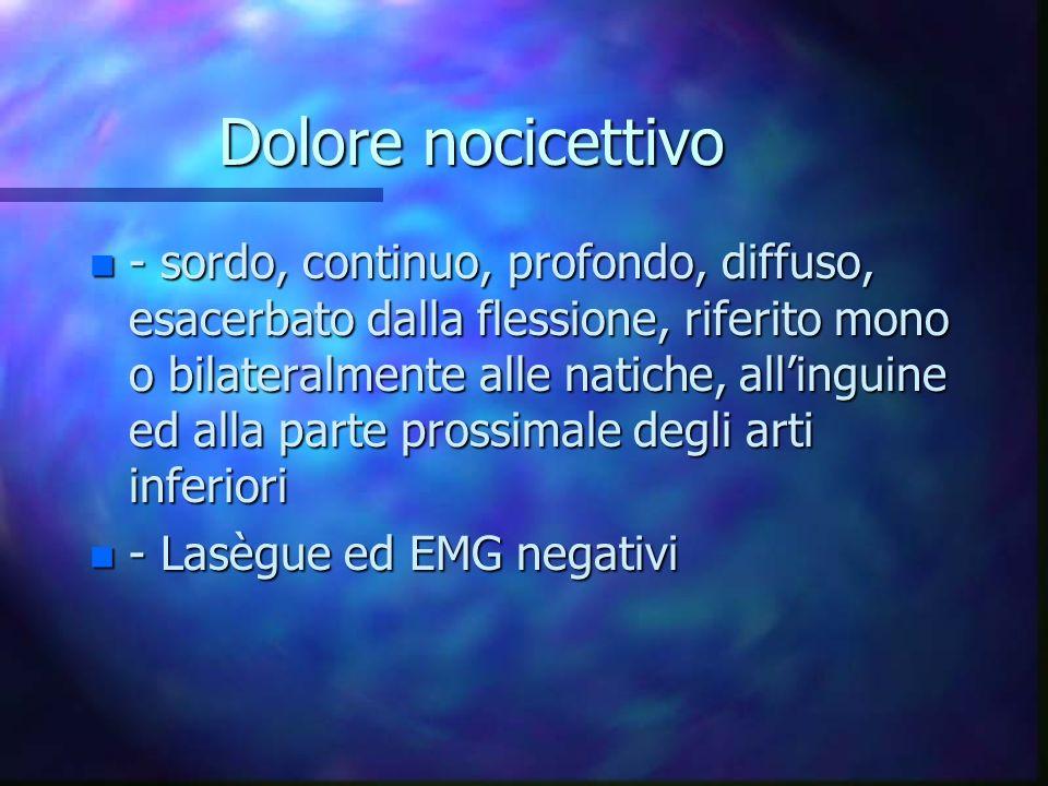 Dolore nocicettivo