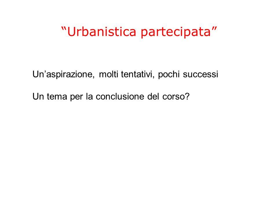 Urbanistica partecipata