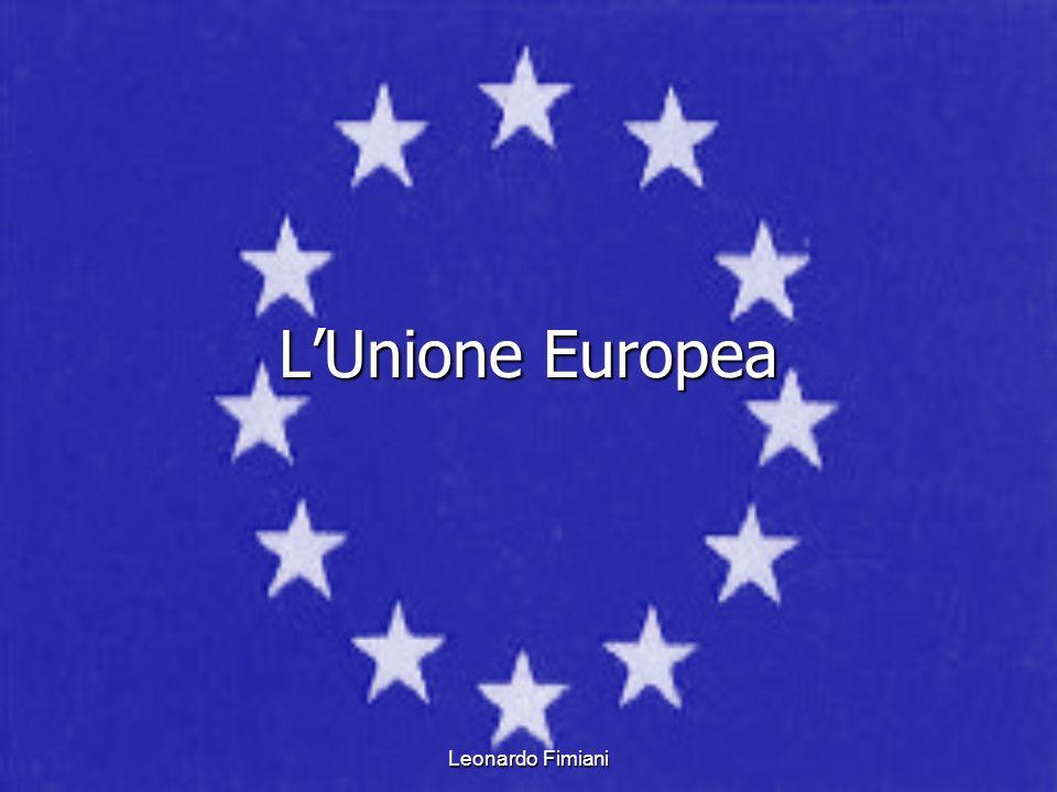 L'Unione Europea Leonardo Fimiani