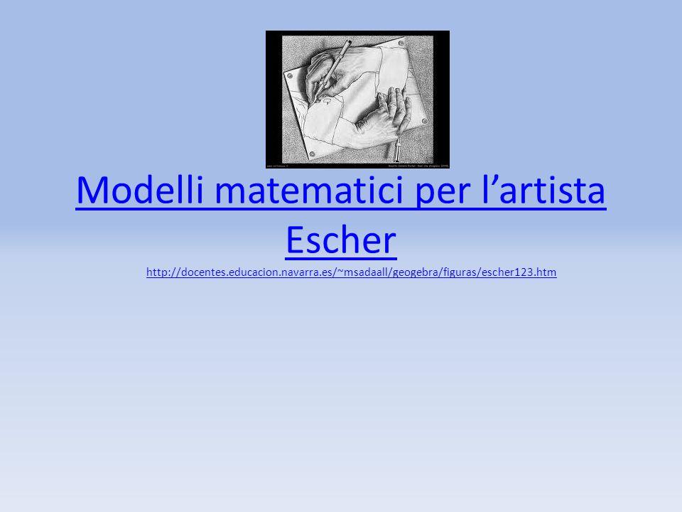 Modelli matematici per l'artista Escher