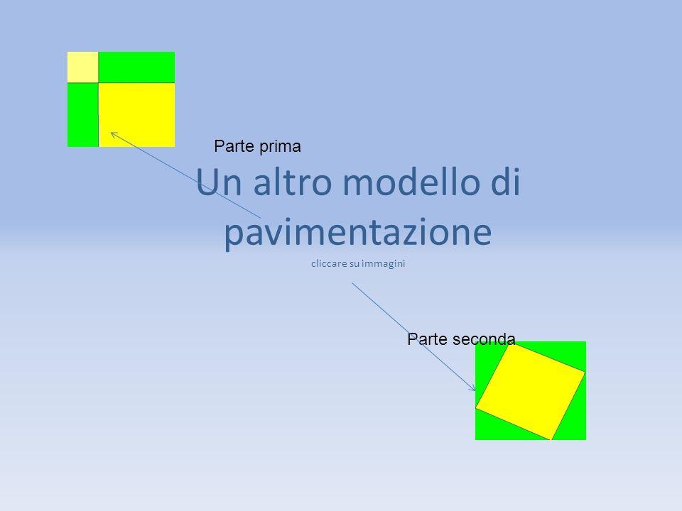 Un altro modello di pavimentazione cliccare su immagini