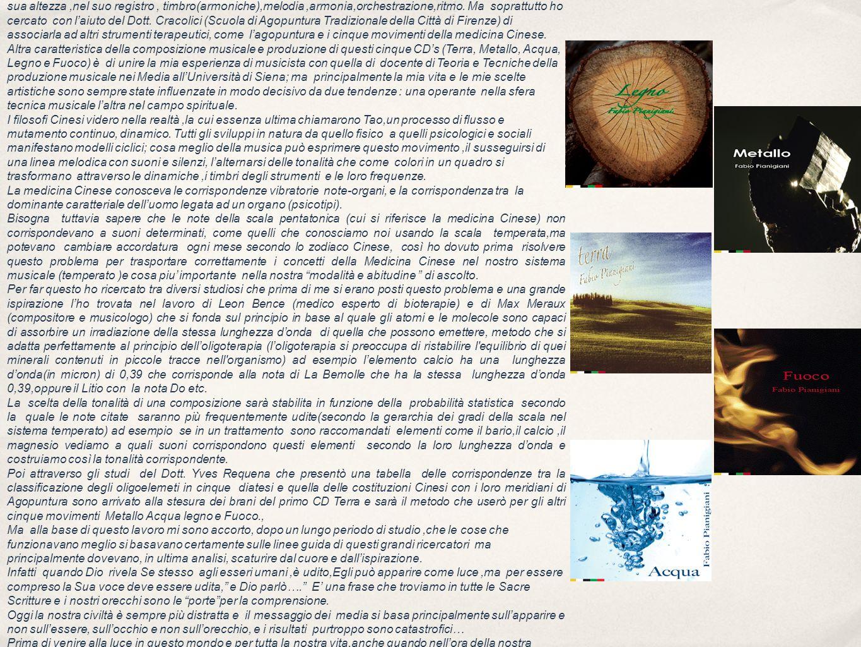 Suono e Agopuntura La Musica dei Cinque Movimenti.