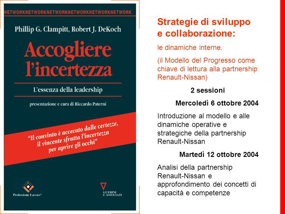Strategie di sviluppo e collaborazione: