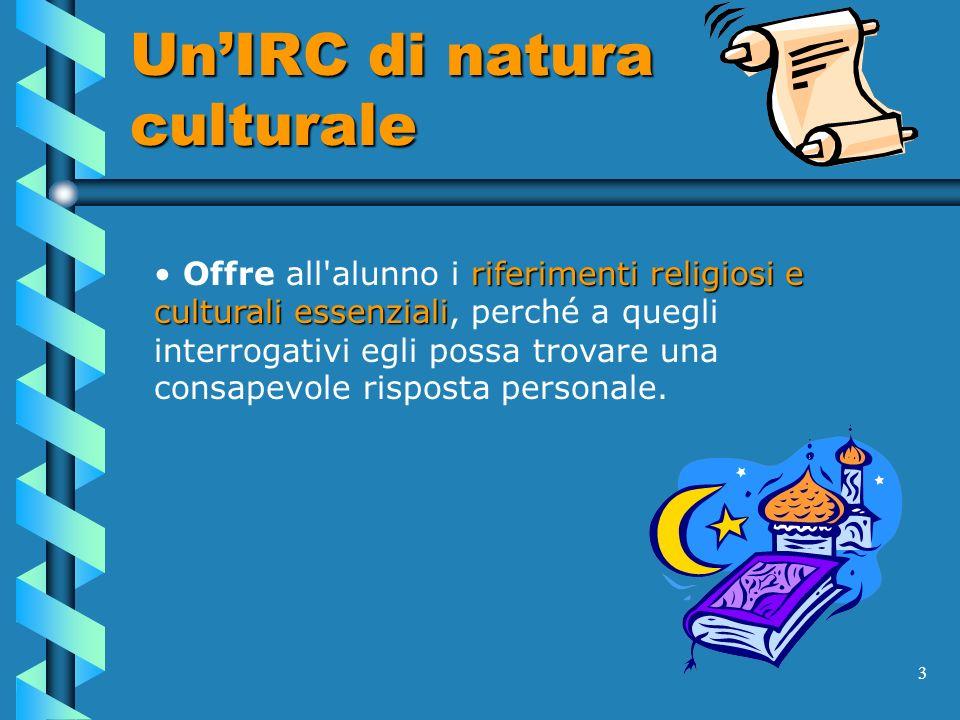 Un'IRC di natura culturale