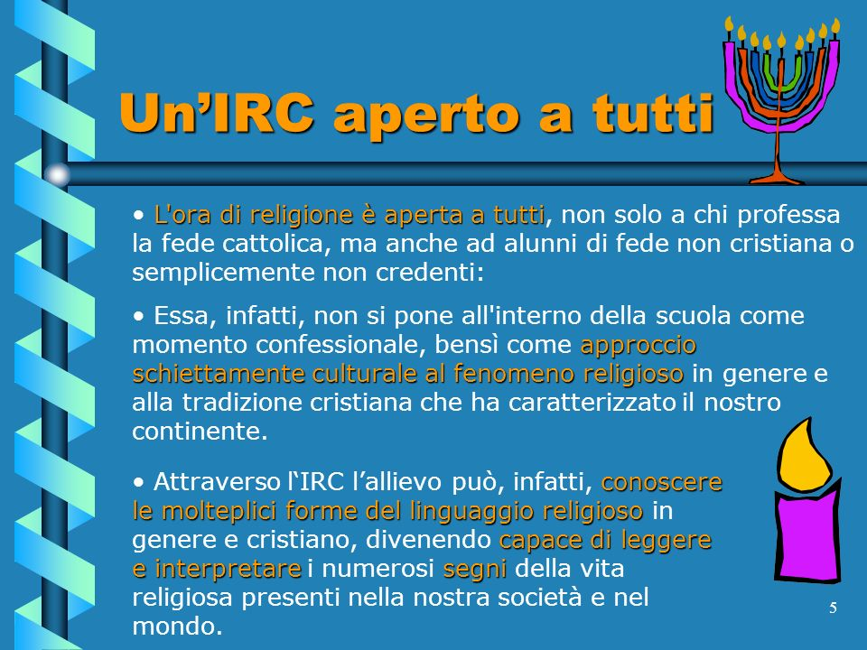 Un'IRC aperto a tutti