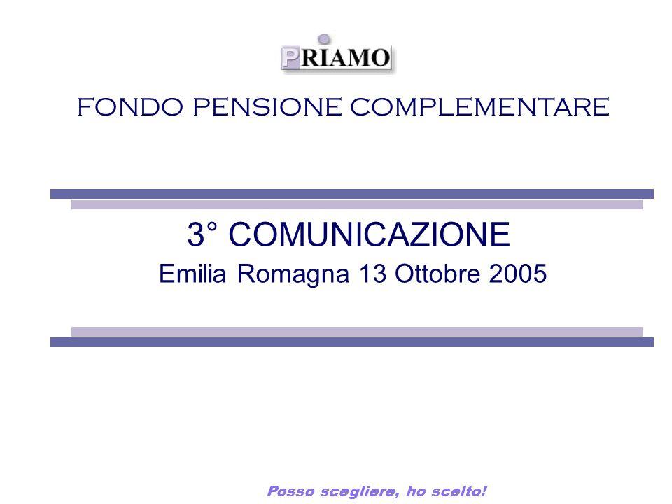 3° COMUNICAZIONE Emilia Romagna 13 Ottobre 2005