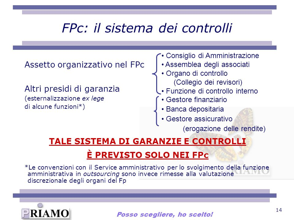 FPc: il sistema dei controlli