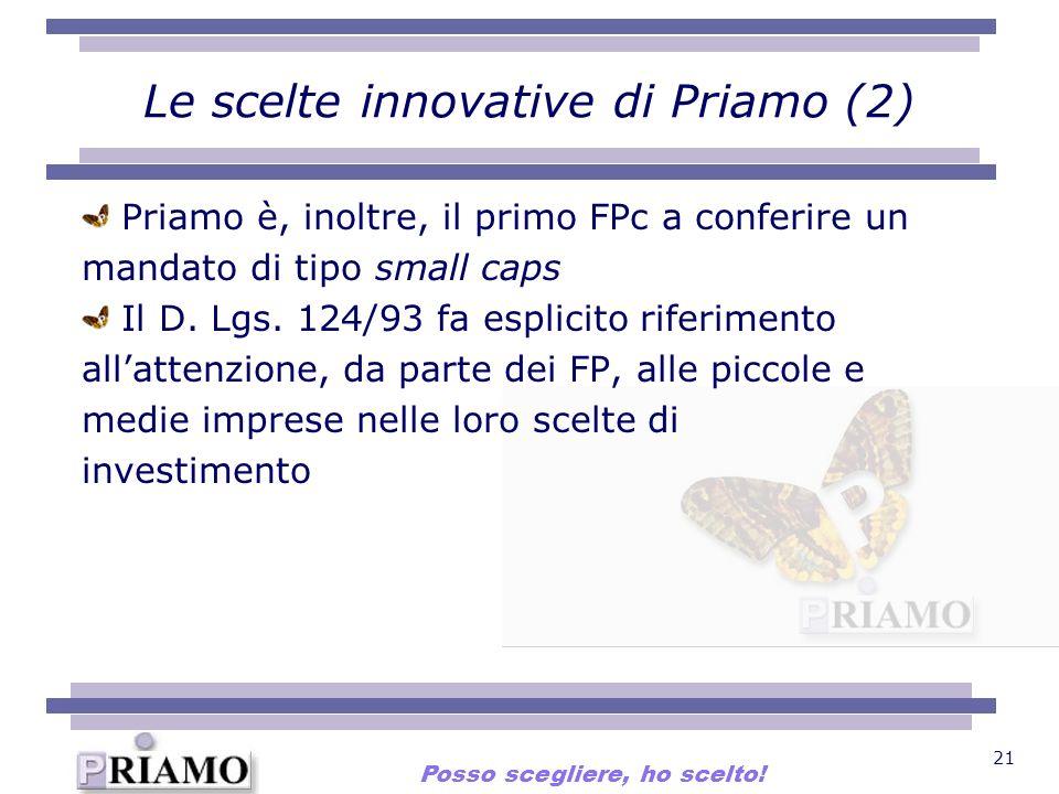 Le scelte innovative di Priamo (2)