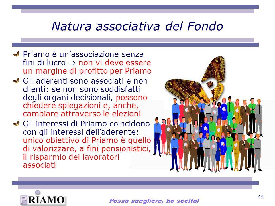 Natura associativa del Fondo