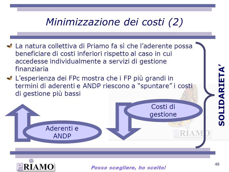 Minimizzazione dei costi (2)
