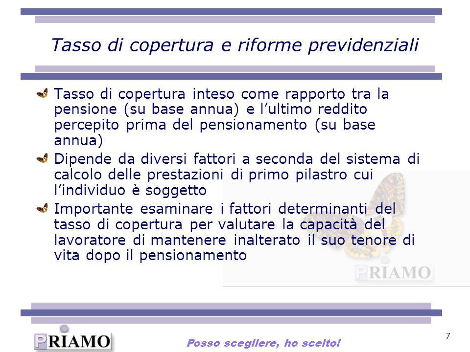 Tasso di copertura e riforme previdenziali