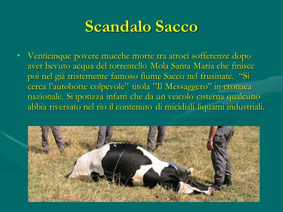 Scandalo Sacco