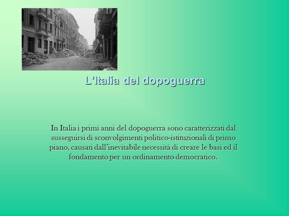 L Italia del dopoguerra
