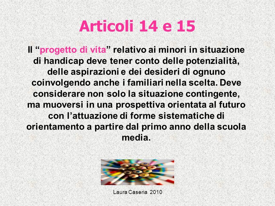 Articoli 14 e 15